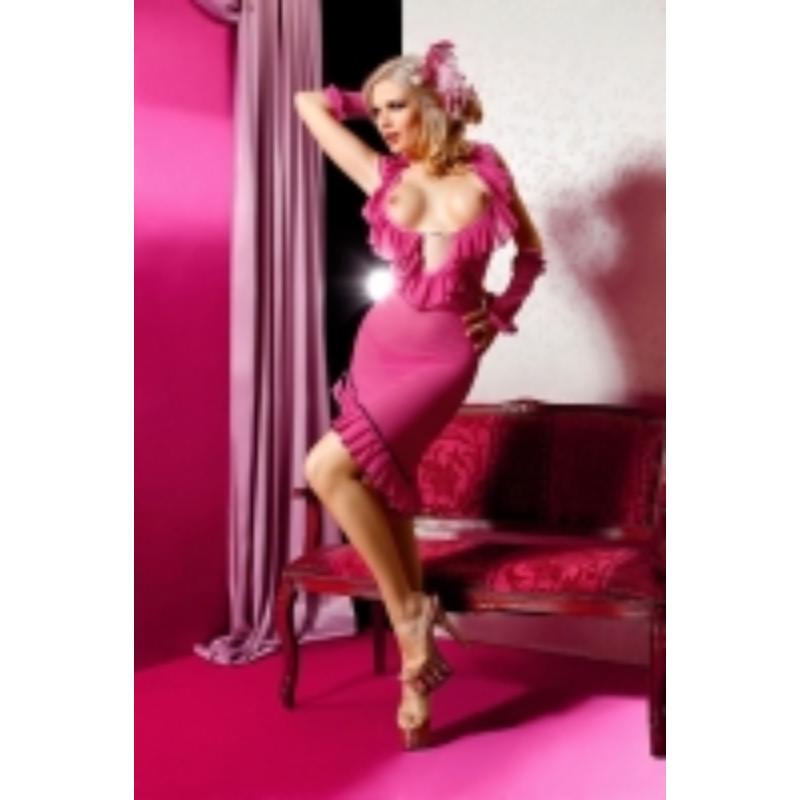 ANAIS Miriam dress pink XL EAN: 5908261612923