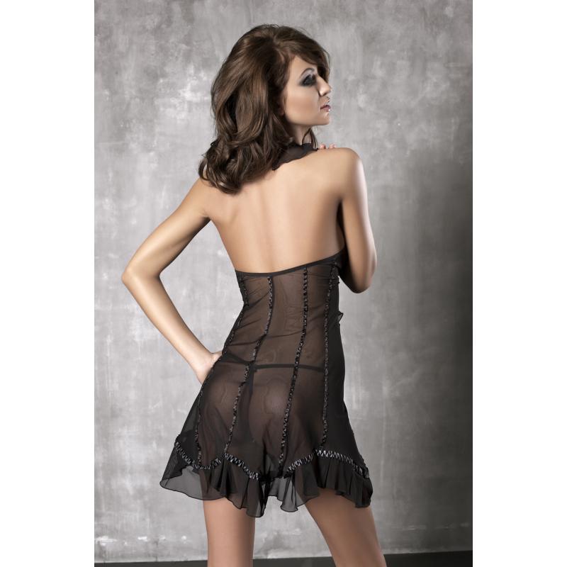 ANAIS Seduce Me black chemise + thong S EAN: 5908261618031