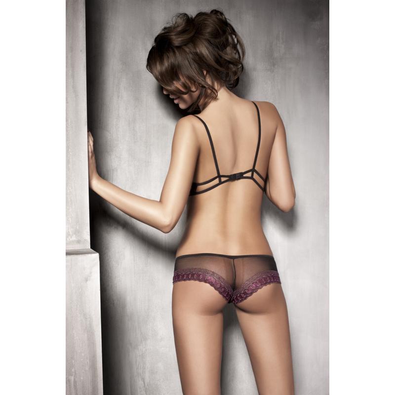 Anais Simone black-violet set L EAN: 5908261619908