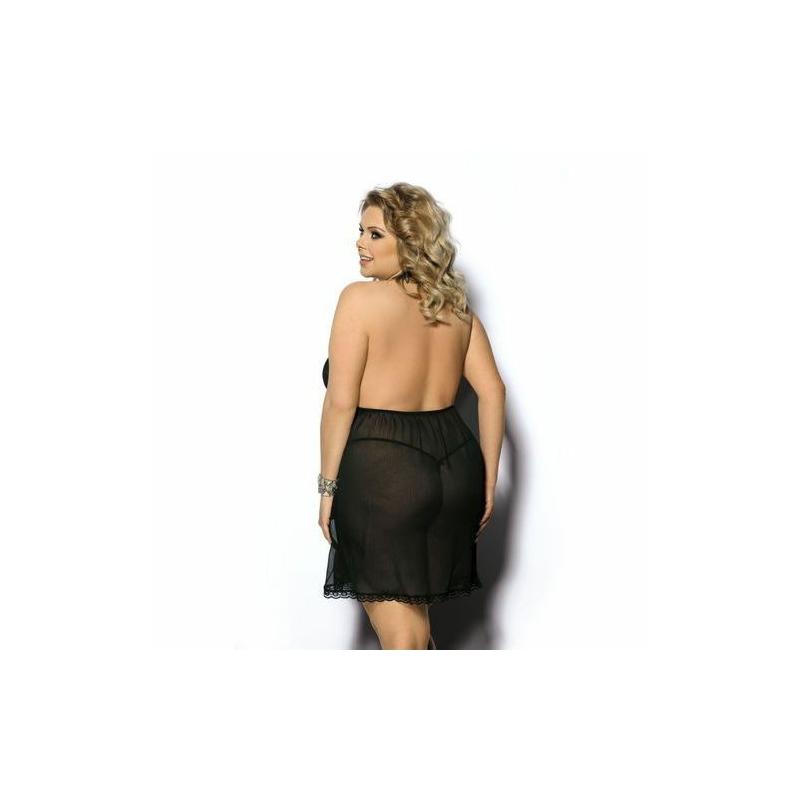 Anais Adola fekete hálóing 5XL/6XL EAN: 5901350516294