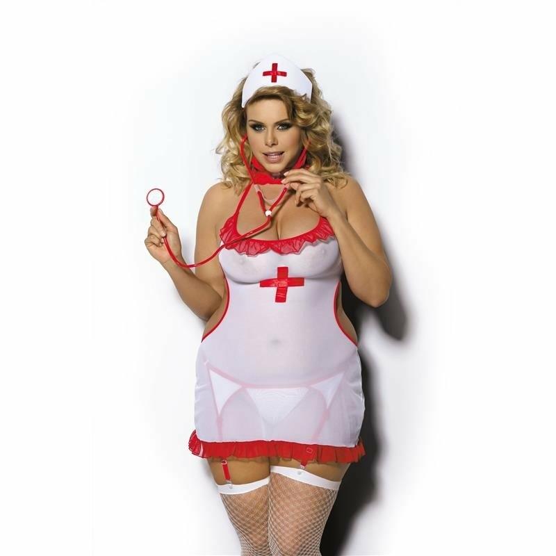 Anais Shane ápolónő jelmez plus size 5XL - 6XL EAN: 5901350516386