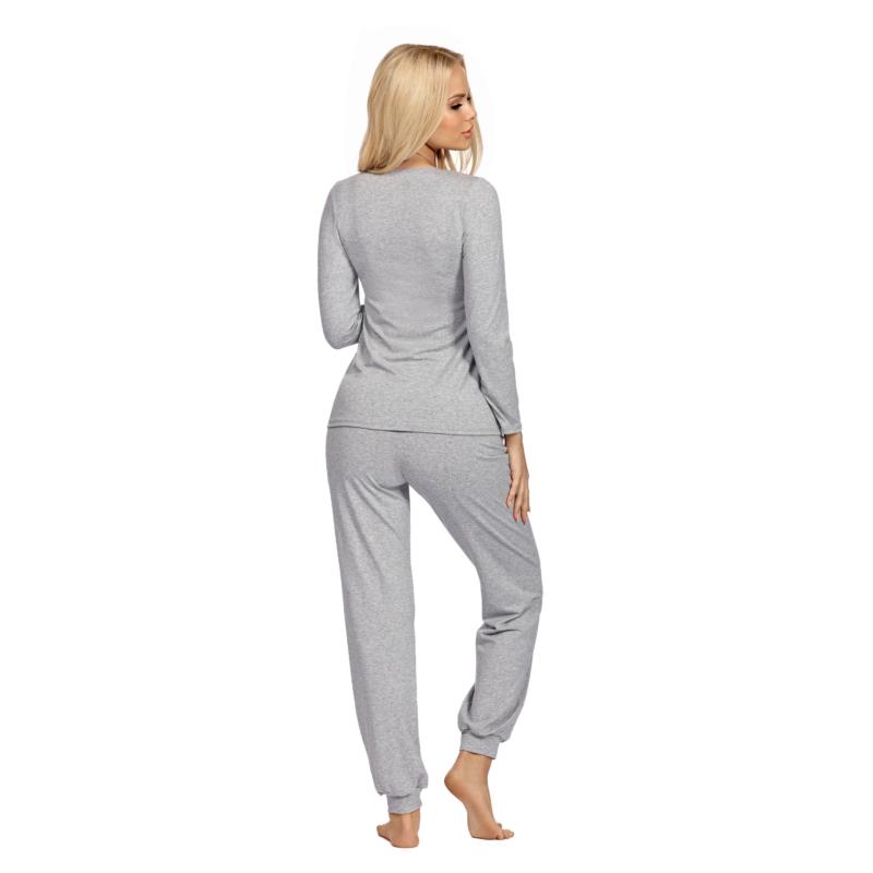 Donna hálóruházat - Blanka női szürke pizsama 36   A/W21-22
