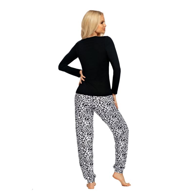 Donna hálóruházat - Bonnie fekete pizsama 44 A/W21-22
