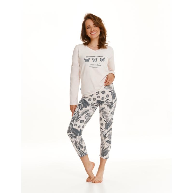 Taro 2559 OMENA női hosszú pizsama L    A/W21-22