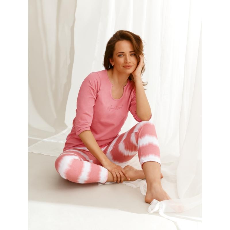 Taro 2567 CARLA női hosszú pizsama L    A/W21-22