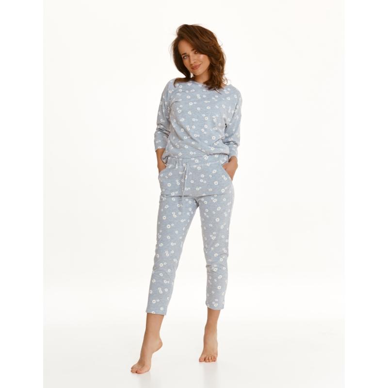 Taro 2571 RAISA női hosszú pizsama L    A/W21-22