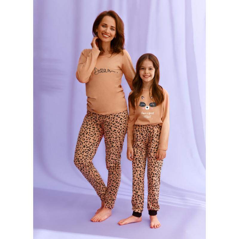 Taro 2585 SUZAN leányka hosszú pizsama 104    A/W21-22