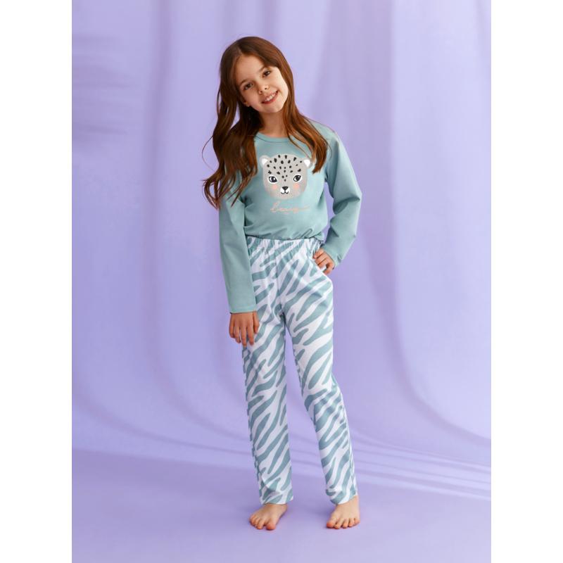 Taro 2588 CARLA leányka hosszú pizsama 122    A/W21-22
