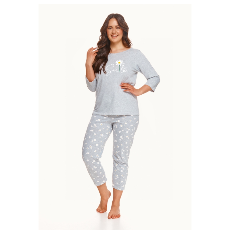 Taro 2600 HERA női hosszú pizsama 2XL    A/W21-22