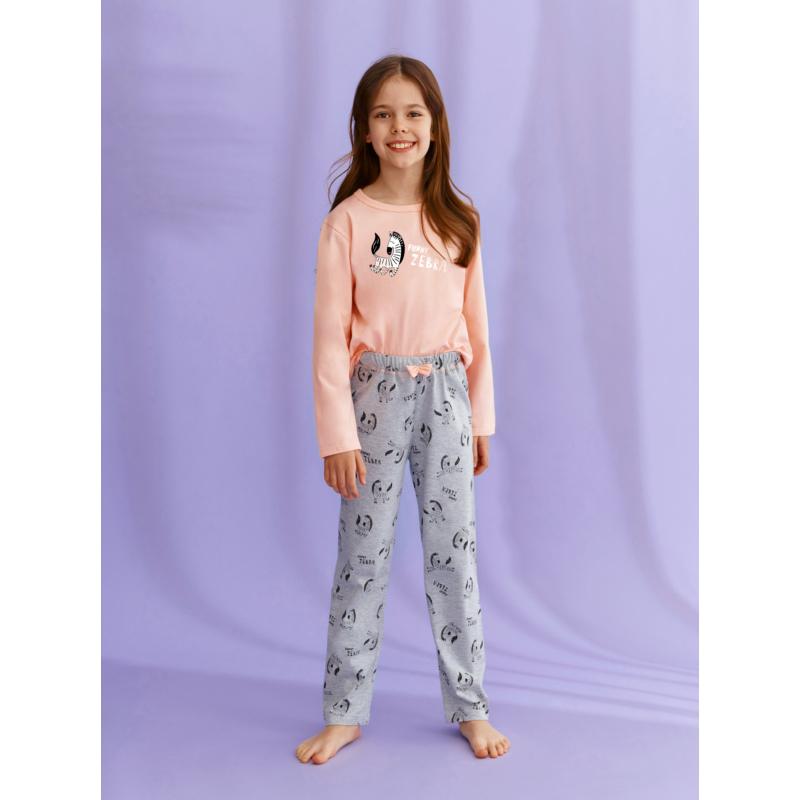 Taro 2616 SARAH leányka hosszú  pizsama 122    A/W21-22