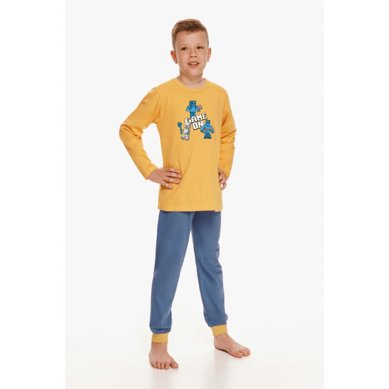 Taro 2624 JACOB fiú hosszú pizsama 122    A/W21-22