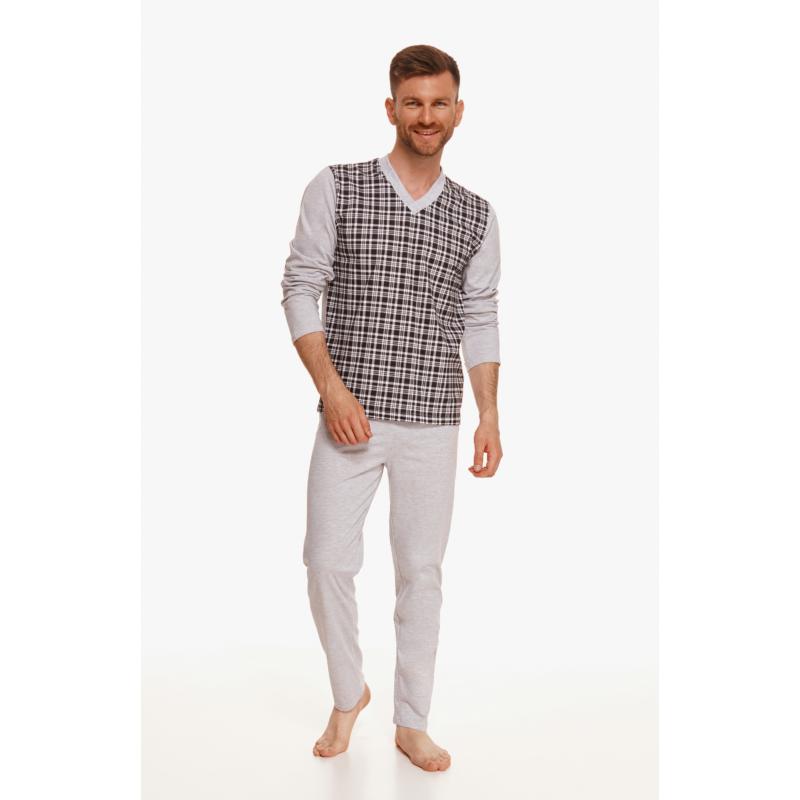Taro 2632 VICTOR férfi hosszú pizsama L   A/W21-22