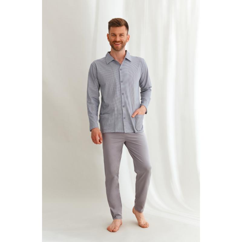 Taro 2635 RICHARD férfi hosszú pizsama L    A/W21-22