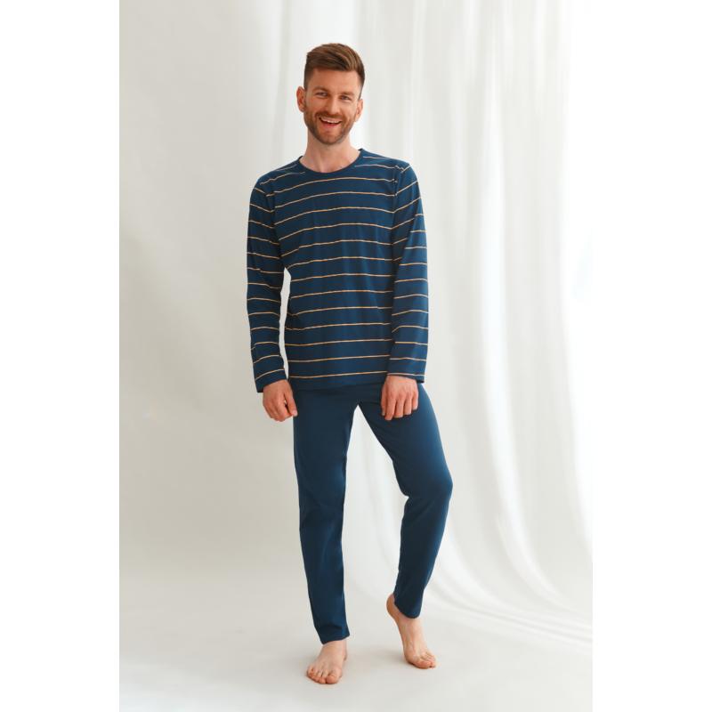 Taro 2639 HARRY   férfi hosszú pizsama M   A/W21-22
