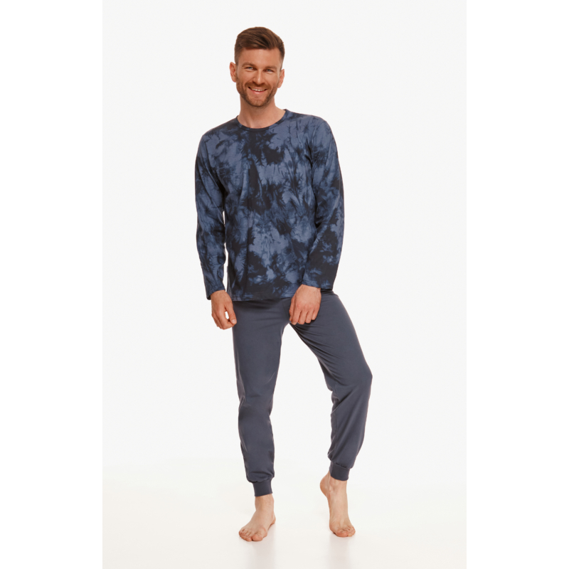 Taro 2644 GREG hosszú férfi pizsama L   A/W21-22