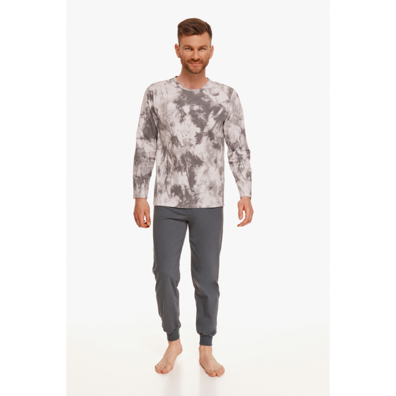 Taro 2644 GREG hosszú férfi pizsama 2XL   A/W21-22