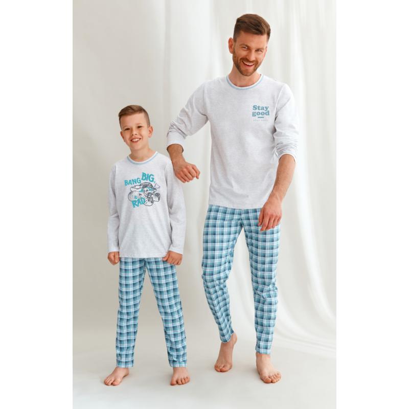 Taro 2650 MARIO fiú hosszú pizsama 104   A/W21-22