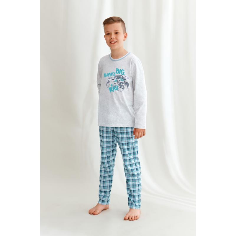 Taro 2651 MARIO fiú hosszú pizsama 122    A/W21-22