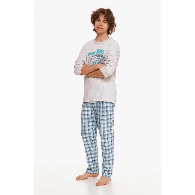 Taro 2654 MARIO kamasz hosszú pizsama 146    A/W21-22
