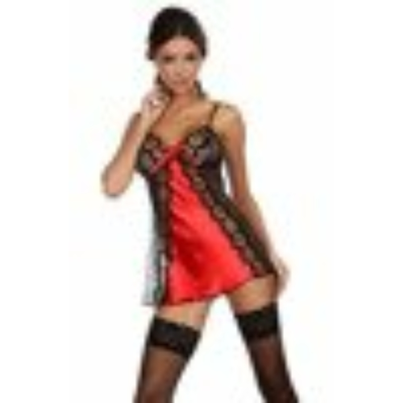 BN6334L/XL Beauty Night Michele chemise red L/XL EAN: 5907623206206