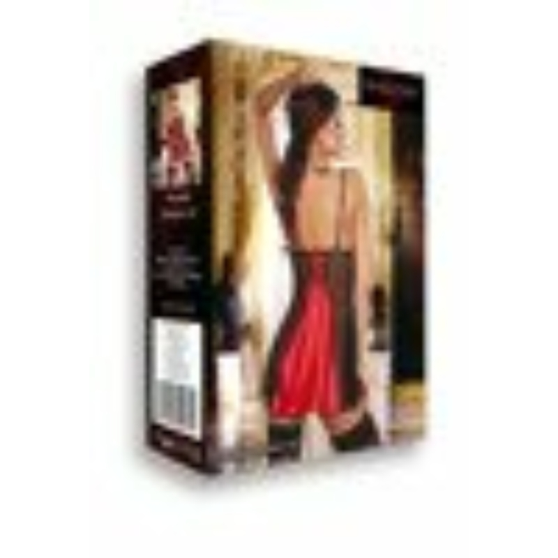 BN6334 Beauty Night Michele chemise red S/M EAN: 5907623206213