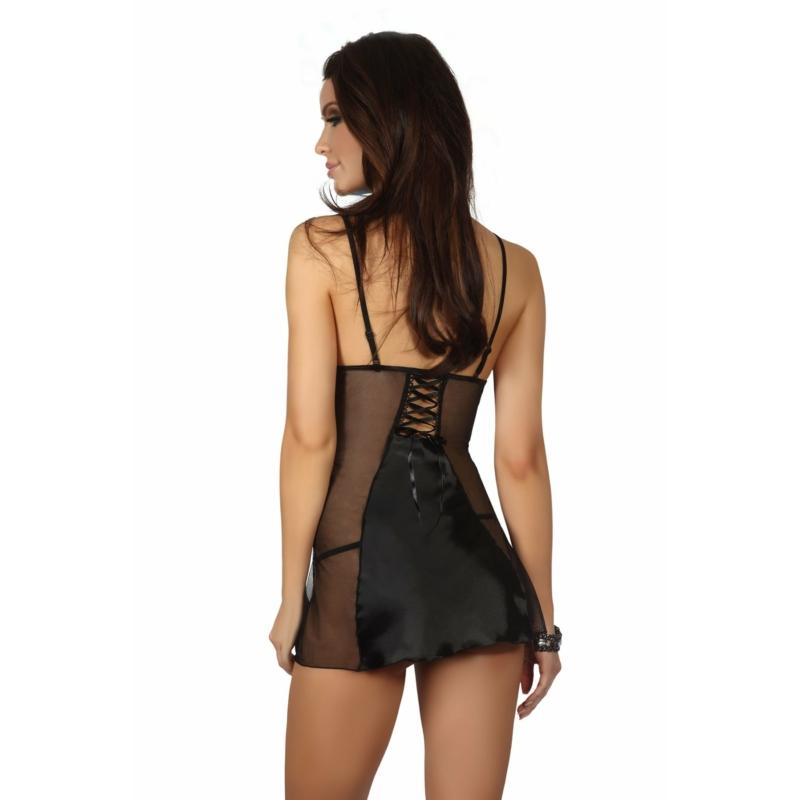 BN6382 Beauty Night Michele chemise black S/M EAN: 5907623206978