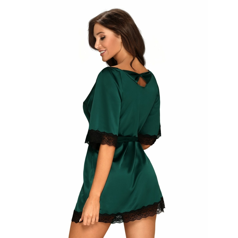 OB9866  Sensuelia robe green  S/M EAN: 5901688229866
