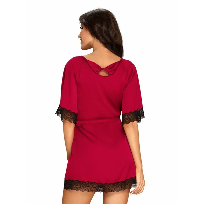 OB9835  Sensuelia robe red  S/M EAN: 5901688229835