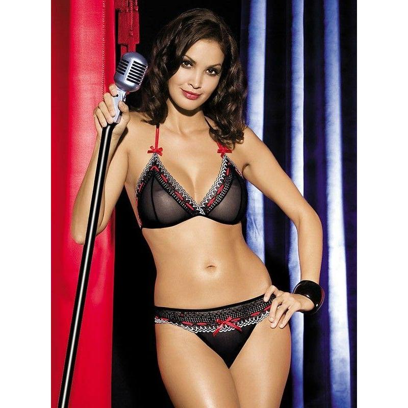 OB1530 OBSESSIVE Showgirl set S/M EAN: 5900308551530