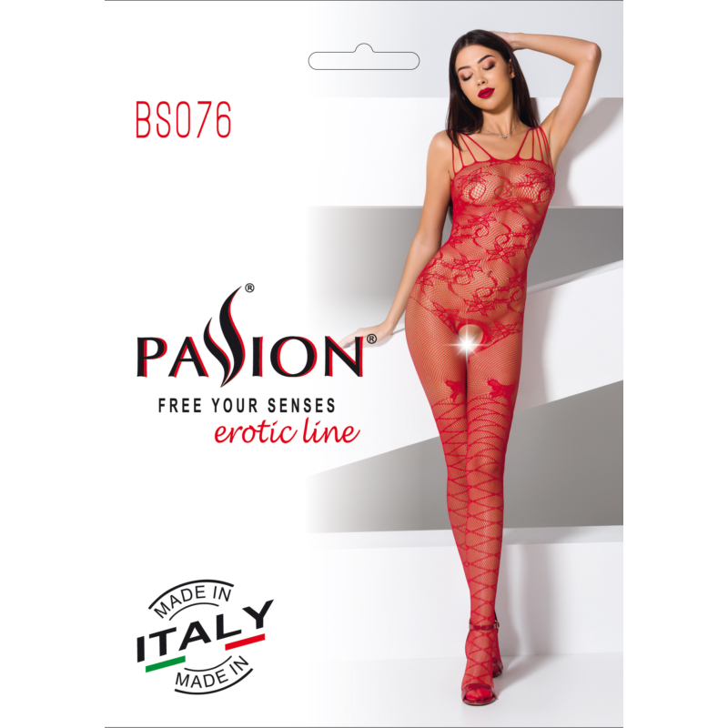 Passion BS076 piros cicaruha EAN: 5908305951803