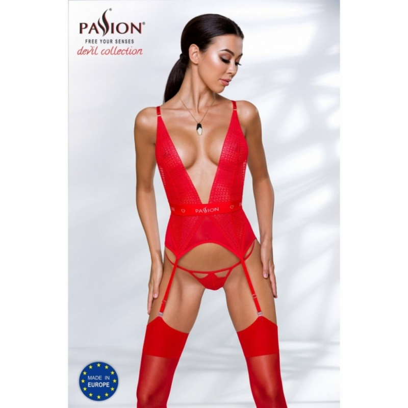 Passion Mirajane corset red L/XL     EAN:5908305956594