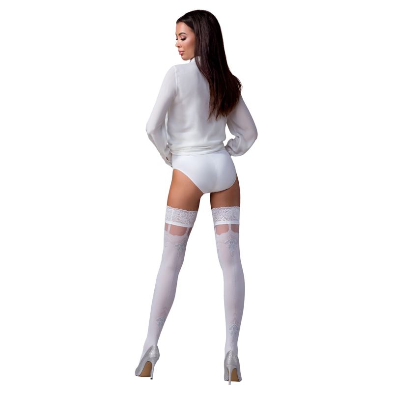 Passion ST121 fehér combfix 3/4   60DEN  EAN:5908305967774