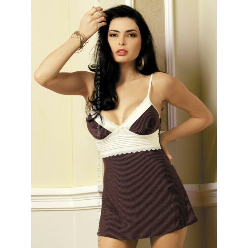 OB4272 OBSESSIVE Choco chemise L/XL EAN: 5900308554272
