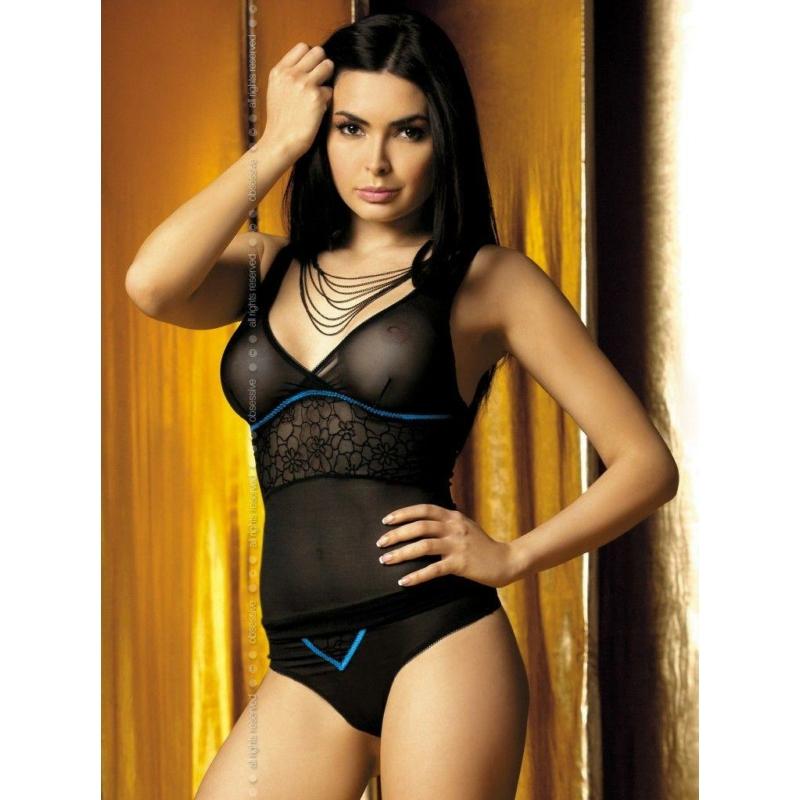 OB4548 OBSESSIVE Carat top&shorts L/XL EAN: 5900308554548