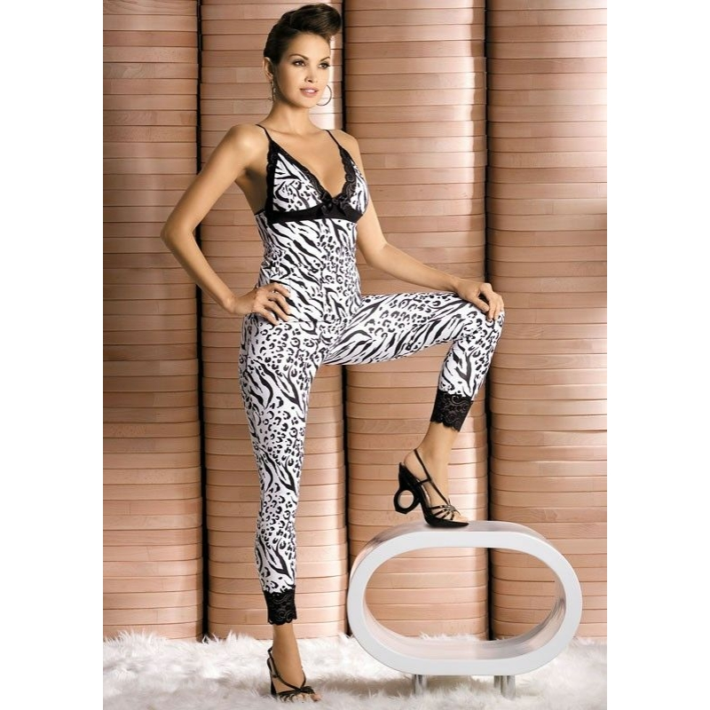 OB1769 OBSESSIVE Zebra pizsama L/XL EAN: 5900308551769