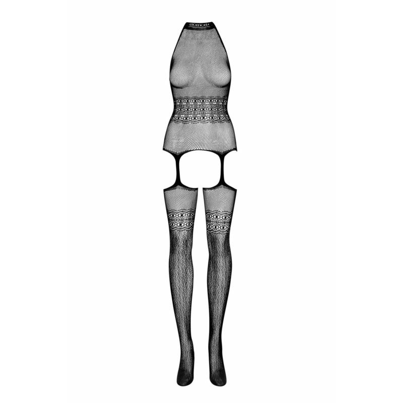 OB7727 OBSESSIVE G312 bodystocking black S/M/L EAN: 5901688207727