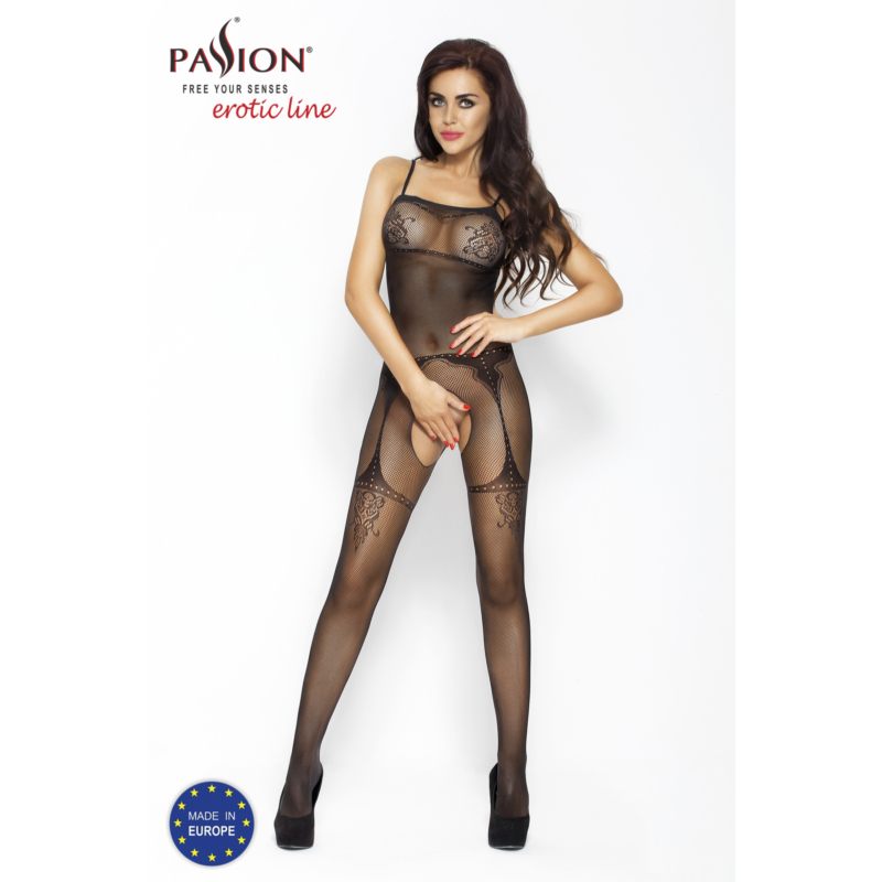 Passion BS006 fekete cicaruha EAN: 5908305923954