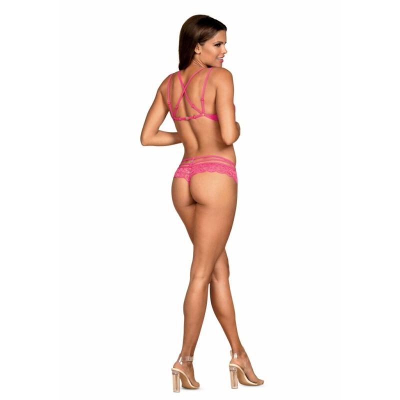 OB7497 OBSESSIVE 860-SET 2 pcs set pink S/M pink EAN: 5901688227497