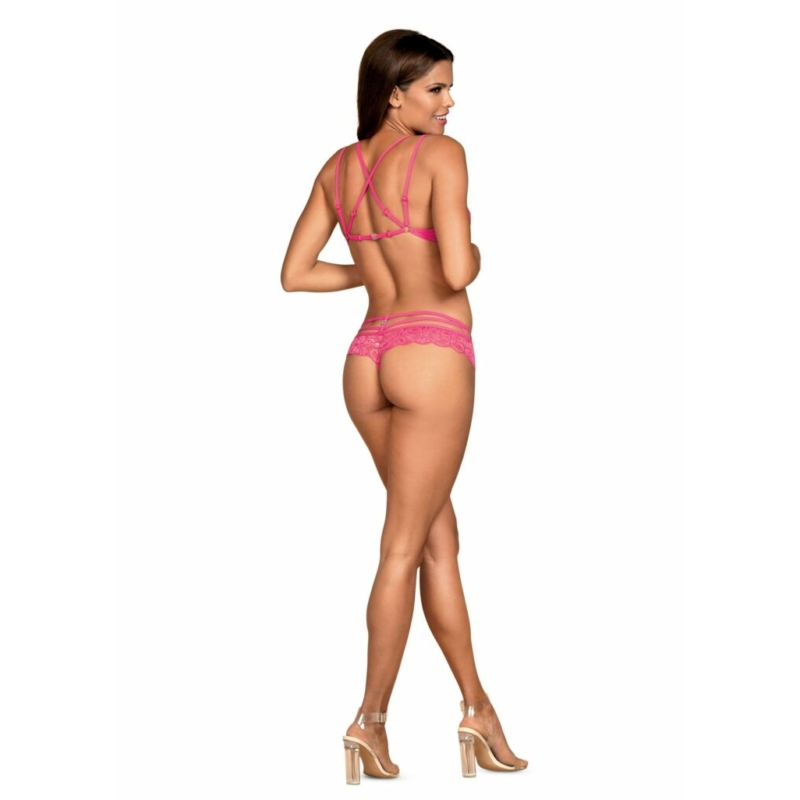 OB7503 OBSESSIVE 860-SET 2 pcs set pink L/XL pink EAN: 5901688227503