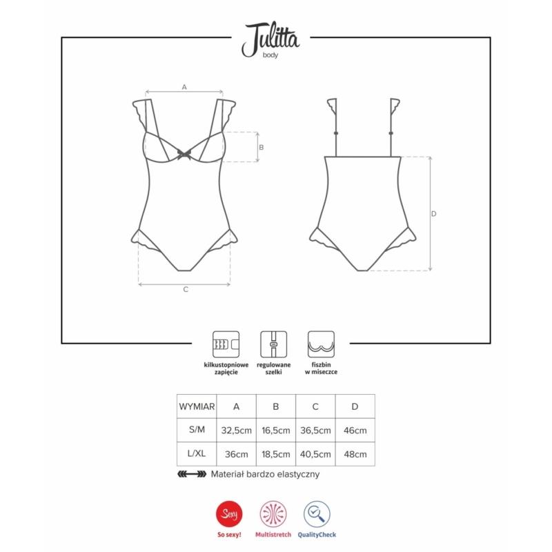 OB2059 OBSESSIVE Julitta body S/M EAN: 5901688212059
